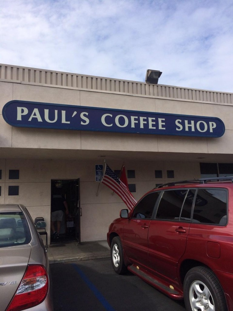 Paul's Coffee Shop Fountain Valley